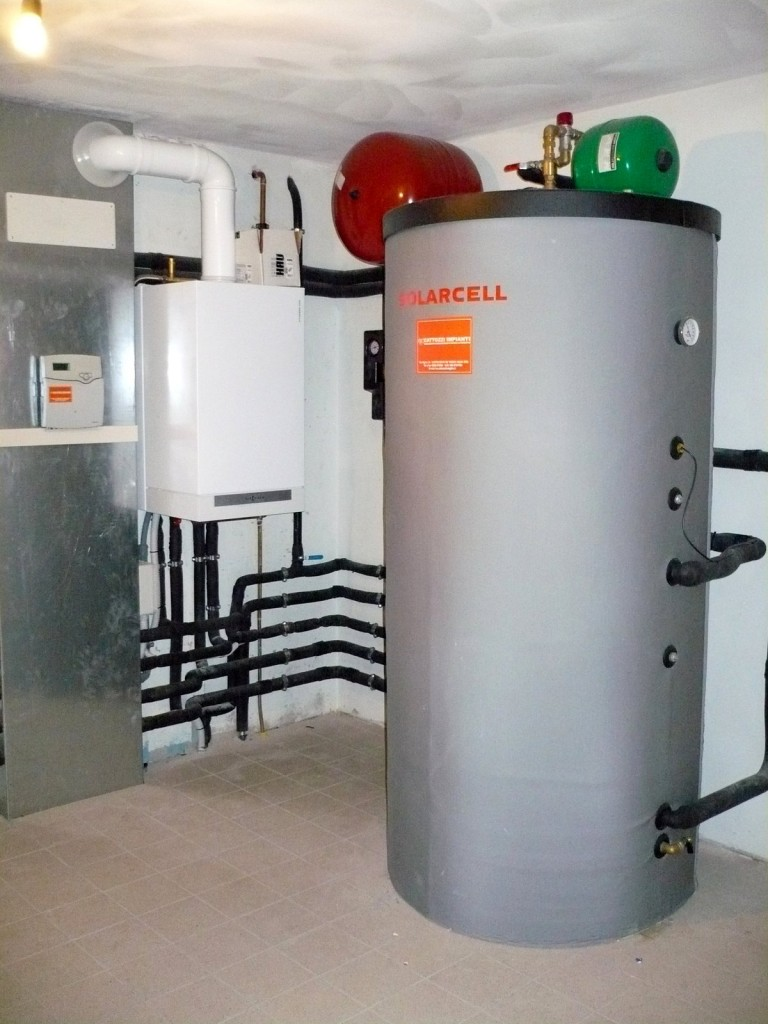 Impianto con caldaia a condensazione - Cattozzi Ivo Impianti